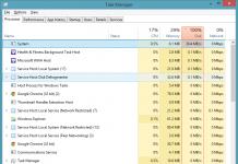 windows 8.1 tine hdd in 100