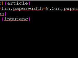 Latex si limbajul in latex - Diacritice si alineate
