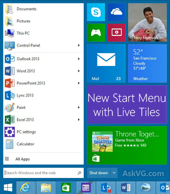 start windows 9