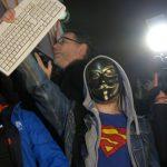 fotografii de la protestele din ungaria impotriva taxei pe gigabyte (8)