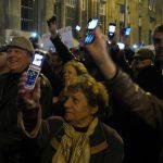 fotografii de la protestele din ungaria impotriva taxei pe gigabyte (9)