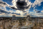 cernobilul filmat cu o drona
