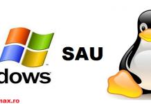 windows sau linux