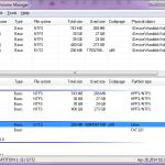 ext2 volume manager pentru partitii ext2