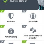Eset - Aplicatie antivirus pentru telefon (2)