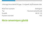 Eset - Aplicatie antivirus pentru telefon (3)