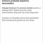 Eset - Aplicatie antivirus pentru telefon (5)