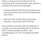 Eset - Aplicatie antivirus pentru telefon (7)