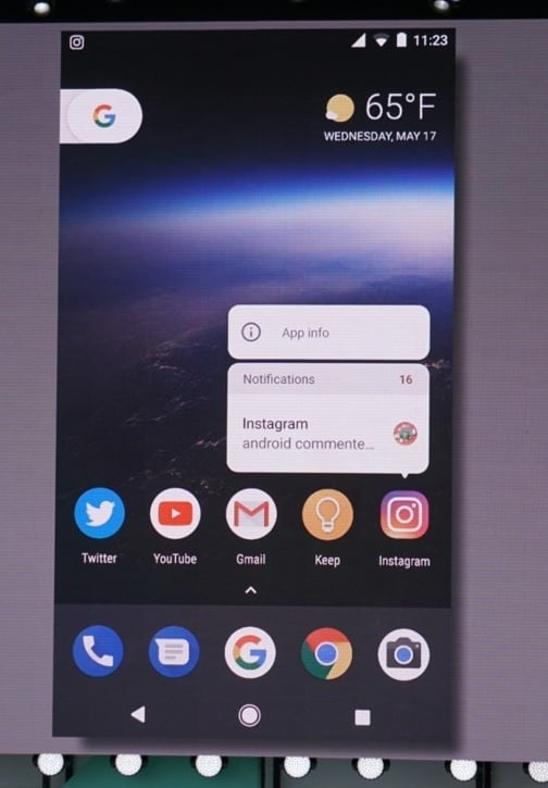 notificarile din android oreo 8 - Google a lansat oficial Android 8.0 Oreo