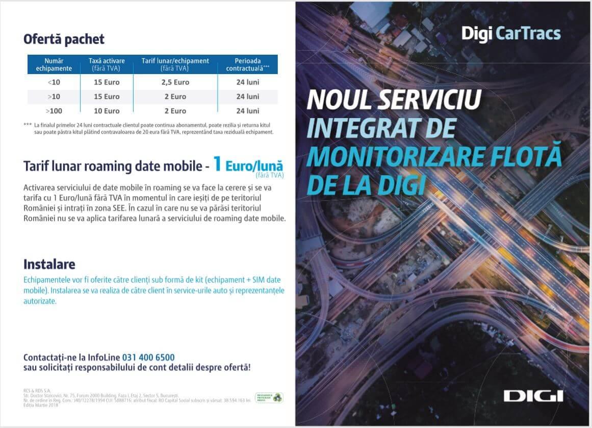 Digi CarTracs - Noul serviciu integrat de monitorizare flota de la Digi (1)