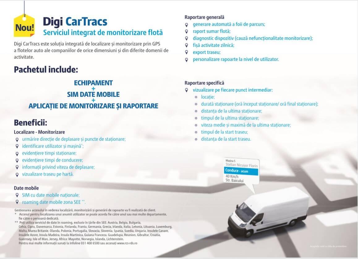 Digi CarTracs - Noul serviciu integrat de monitorizare flota de la Digi (2)