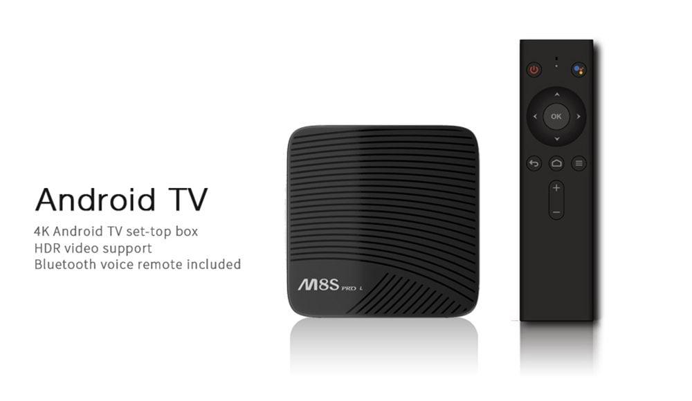 TV Box Mecool M8S PRO L 4K