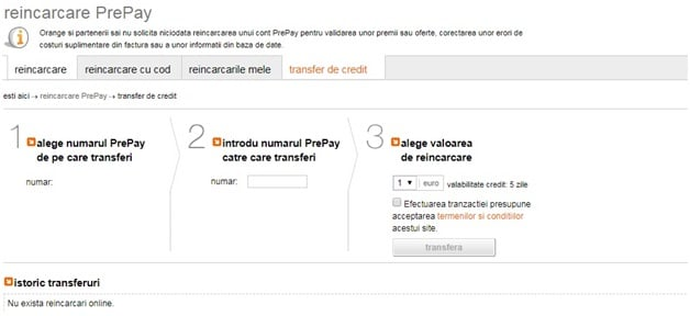 Totul despre platforma online si aplicatia mobila My Orange Account