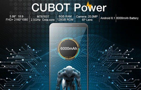 Cubot Power - flagship-ul Cubot putere la un pret redus - disponibil pe Gearbest