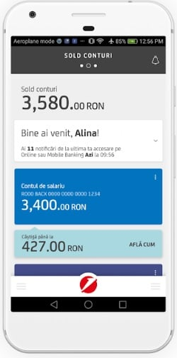 aplicatia unicredit mobile banking2