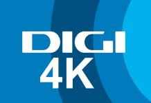 Digi (RCS - RDS) va lansa primul program TV 4k din Romania - Digi 4k