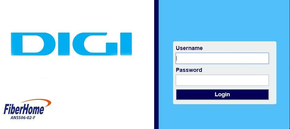 Instalare/Configurare si informatii despre Digi FiberHome AN5506