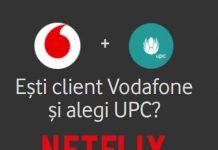 Oferta 12 luni Netflix gratuit la Vodafone - UPC