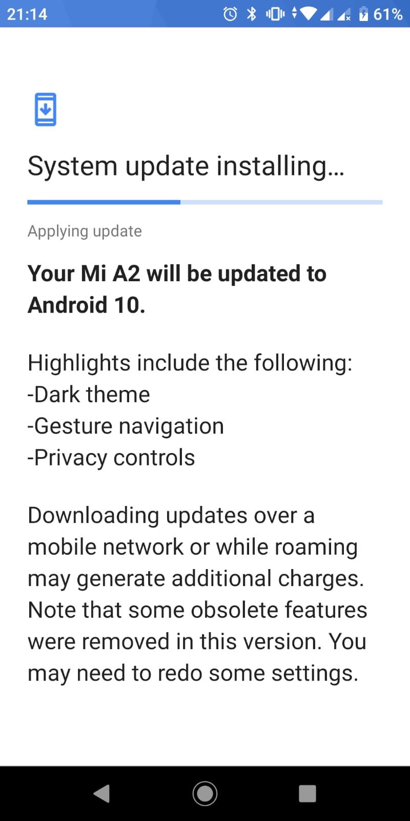 Xiaomi Mi A2 si A3 au primit update la Android 10.