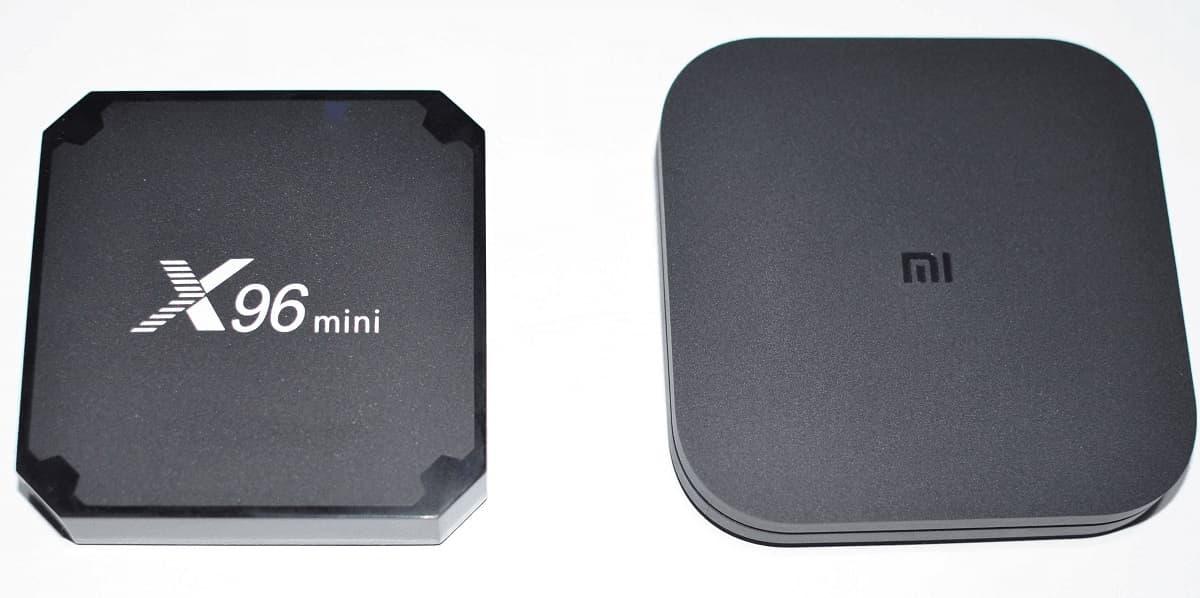 X96 vc Xiaomi tv box